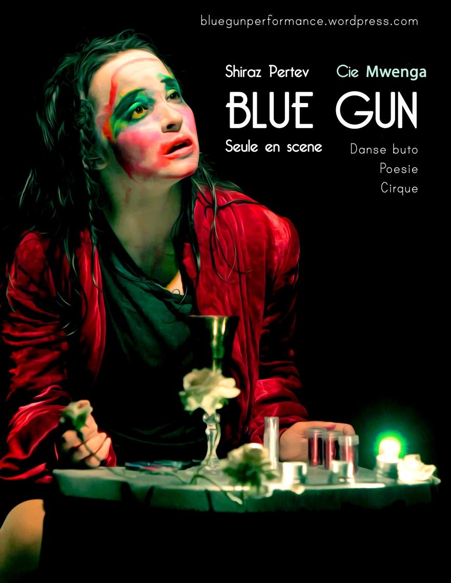 Cie Mwega - Blue Gun